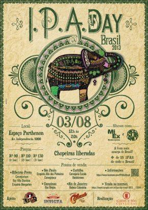 Vem aí o IPA Day 2013: a festa mais lupulada doBrasil