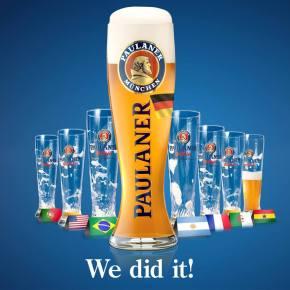 Cervejarias alemãs comemoram o título mundial nas redessociais